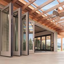 folding glass patio doors. Plain Glass Andersen Accordion Doors To Folding Glass Patio I