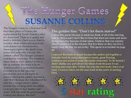 book review hunger games