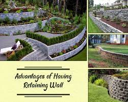 14 benefits of installing a retaining wall