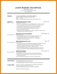 Microsoft Word Job Resume Template For Study Free Professional