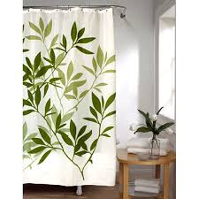 brown fabric shower curtains. Enchanting Green And Brown Shower Curtains Decor With Leaves Stall Size Fabric Curtain Bedbathhome