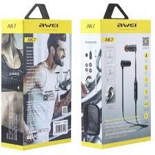 <b>Awei AK7</b> Intelligent Magnetic Control Wireless Bluetooth Earphone ...