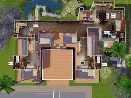 best sims house layout with sims 2 house floor plan
