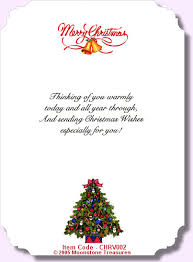 Christmas Card Verses by Moonstone Treasures.
