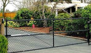black chain link fence gate. Perfect Fence Chain Link Driveway Gates  Google Search And Black Chain Link Fence Gate E