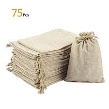 Small burlap bags Sack Anphsin 75 Pieces Small Burlap Bags With Drawstring 543x374 Inch Burlap Gift Totebagfactory Amazoncom Anphsin 75 Pieces Small Burlap Bags With Drawstring