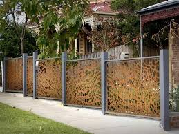 garden fence ideas design garden fence colour ideas