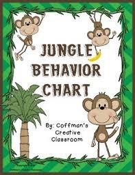 Chart Jungle Behavior Chart Jungle Theme
