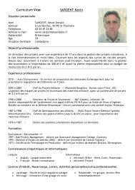 Curriculum Vitae Format For Business Resume Pdf Download