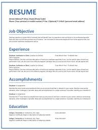 Good Resume Templates Simple Resume Templates Home Office Careers