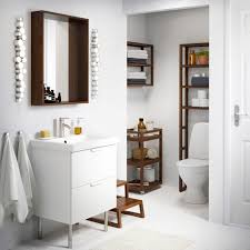 brown bathroom furniture. accessories lovable bathroom furniture ideas ikea molger trolley and shelves in dark brown a godmorgon n