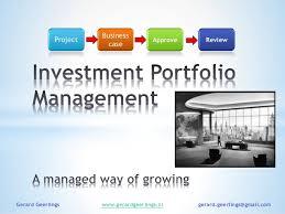 Investment portfolio presentation