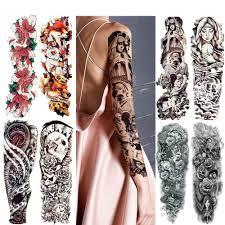 8 Fogli Moda Acquerello Flash Volpe Adesivi Tatuaggio Temporaneo