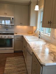 Marvelous Formica Fx Calacatta Marble Review No Seams Bullnose Edge