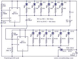led circuit diagrams ireleast info flashing led unit electronic circuits and diagram electronics wiring circuit