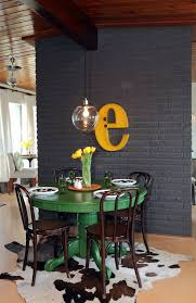 Hgtv Dining Room Beauteous Colorful Painted Dining Table Inspiration