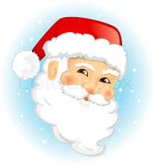 santa claus face images.  Claus Face Of Santa Claus Vector Illustration Isolated  Stock Vector Colourbox With Images A