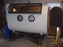 Sand Blaster Cabinet 275 Gallon Oil Tank Sand Blasting Cabinet Pirate4x4com 4x4
