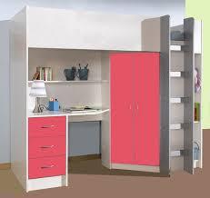 details about calder loft style high sleeper cabin bed desk wardrobe drawers new r227wp