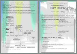 Открытый Институт Делового Администрирования Дипломы и документы Европейское приложение к диплому