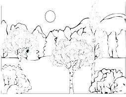 Free Printable Enchanted Forest Coloring Pages Marvellous A