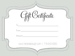 Customized Gift Certificates Certificate Template Pin By On Templates Customized
