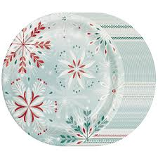 amazon com fancy paper plates bulk decorative party supplies amazon com fancy paper plates bulk decorative party supplies christmas snowflake member s mark hoilday dinner plates health personal care