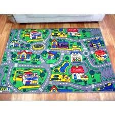 train track rug car for kids activity target australia