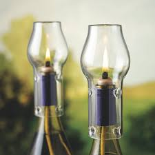 Making Wine Bottle Lights Wine Bottle Oil Lamp Kit Wine Enthusiast