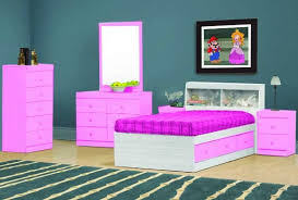 Cotton Candy Pink Kids Bedroom Group Cotton Candy