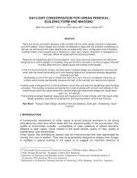 Hamid Shirvani Urban Design Process Pdf Pdf Daylight Consideration For Urban Renewal Building Form