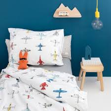 airplane toddler bedding set by studio