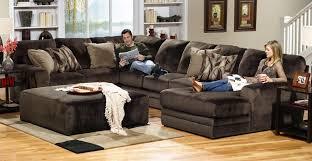 jackson everest customizable sectional sofa set b chocolate