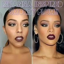 celebrity inspired rihanna makeup tutorial