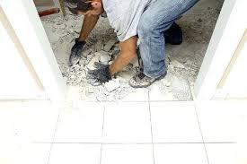 easiest way to remove tile from concrete floor best way to remove adhesive from concrete ceramic