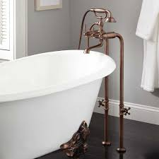 how to get freestanding bathtub faucet installation bathtubs