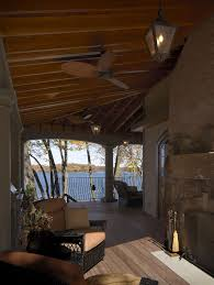 patio ceiling fans. Patio Ceiling Fans With Lights Traditional And Fan Covered Iron Railing Lantern