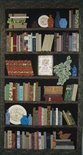 bookcase+quilt+pattern+free | Read All About Them: Bookshelf ... & Bookshelf Quilt - Blue Bottles on my Bookshelf Adamdwight.com