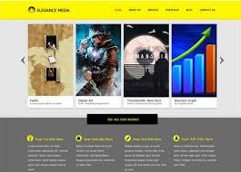 Psd Website Templates Free High Quality Designs 40 High Quality And Free Web Templates In Psd