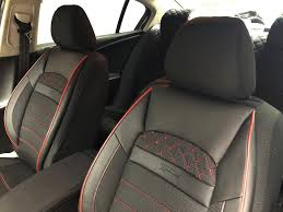 jeep commander black red v24 front seats