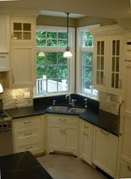 sink windows window love: kitchen corner sinks shelly lindstrom  weeks ago corner kitchen sink