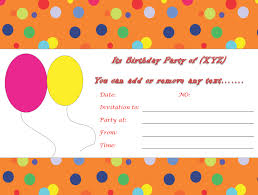 free birthday invitation template for kids birthday invitation templates printable musicalchairs us