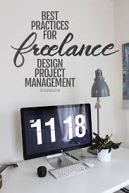 Best Practices For Freelance Design Project Management Business Stunning Work From Home Web Design