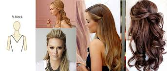 V Hairstyle necklines and hairstyles hanrie lues bridal & evening 6482 by wearticles.com