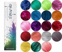 Sparks Long Lasing Bright Permanent Dye Hair Color Cream 90 Ml 3 Oz You Pick Ebay