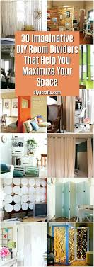 diy room dividers the brilliant artistic and simple room divider ideas