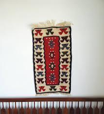 Native American Home Decor Vintage Southwestern Wall Tapestry Kilim Print Navajo Wall