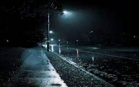 Dark Rain Street Wallpapers - Top Free ...