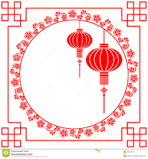 Chinese New Year Card Chinese New Year Greeting Card Stock Vector Illustration Of Asian