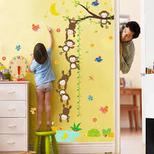 Monkey Growth Chart Wall 3d Monkey Kids Height Growth Chart Wall Sticker Buy Kids Height Growth Chart Wall Sticker Monkey Wall Sticker Kids Wall Sticker Product On